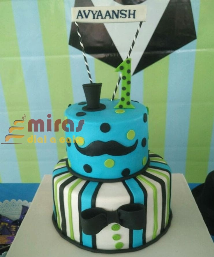 Pleasant Online Little Man Birthday Cake Customised Cakes Delivered In Birthday Cards Printable Trancafe Filternl