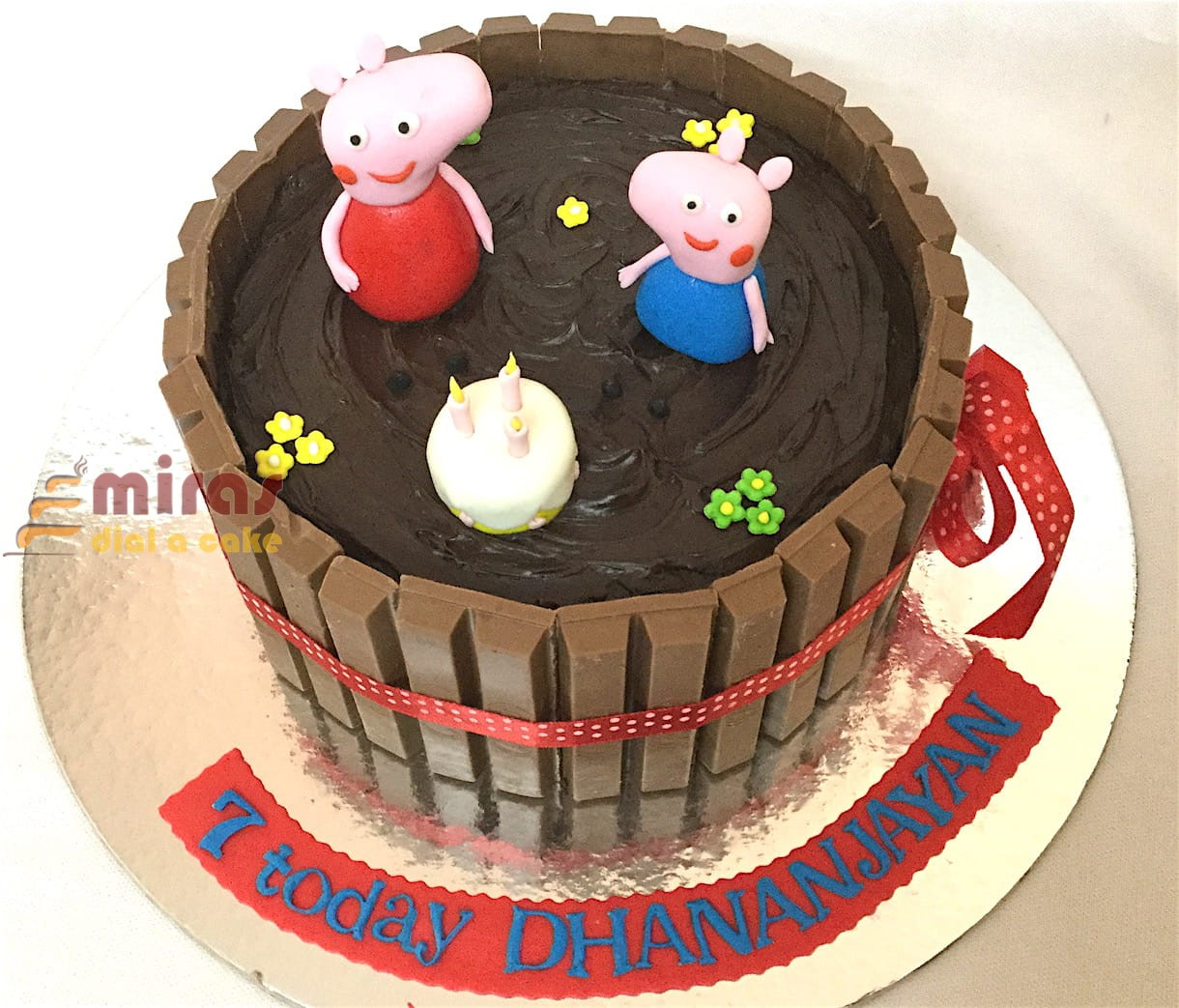 Online Peppa Pig Theme Birthday Cakes For Kids I Order Online For
