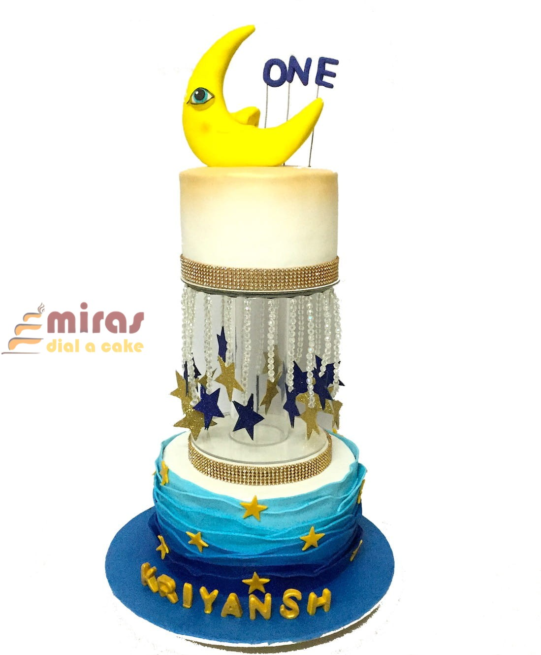 Online Sun Moon Theme 1st Birthday Cake Online Birthday Cakes For Kids Bangalore Delivery Best Cakes Near Me L Miras