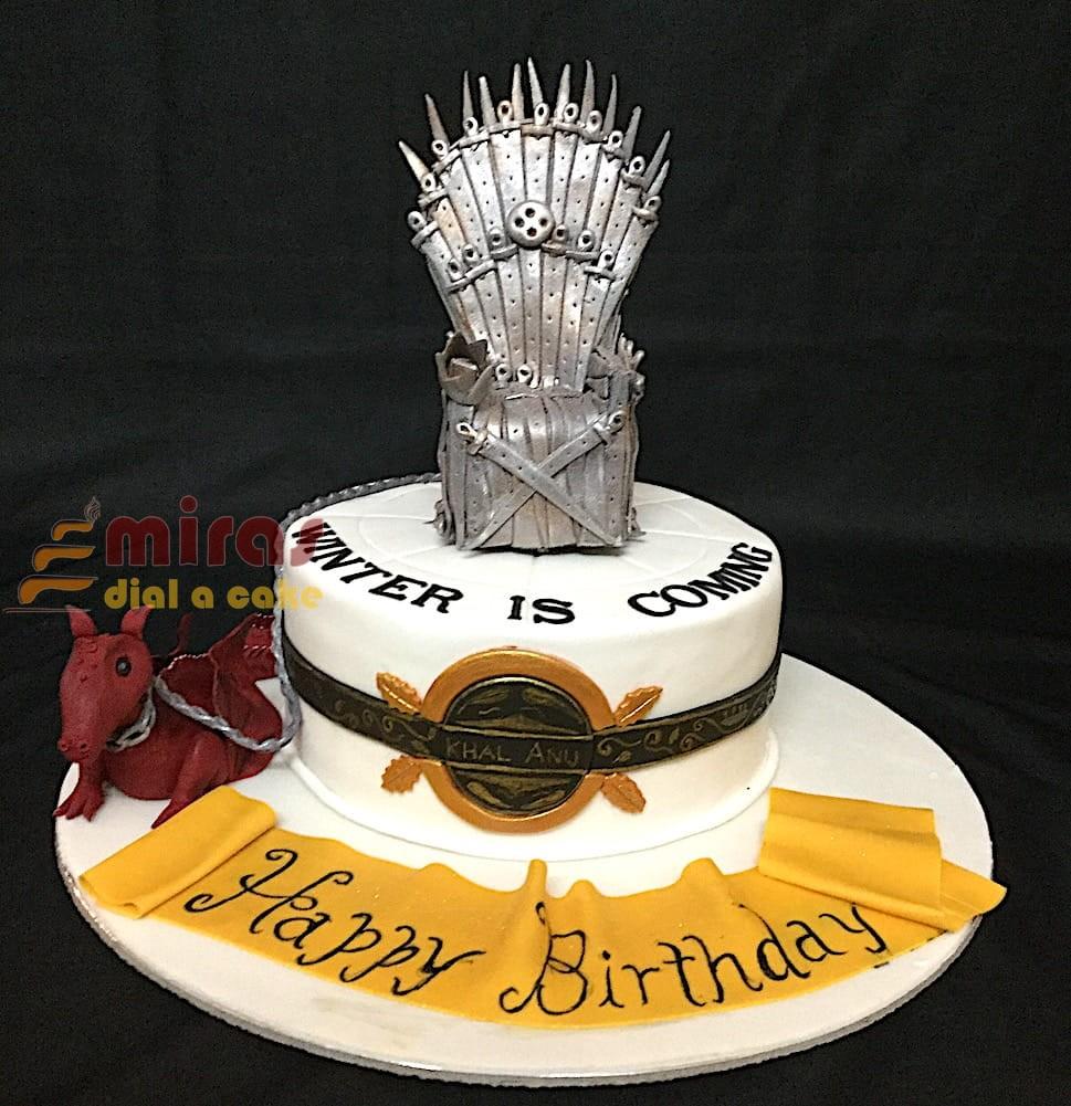 GOT Throne Dragon Cake 15kg 3200JPG