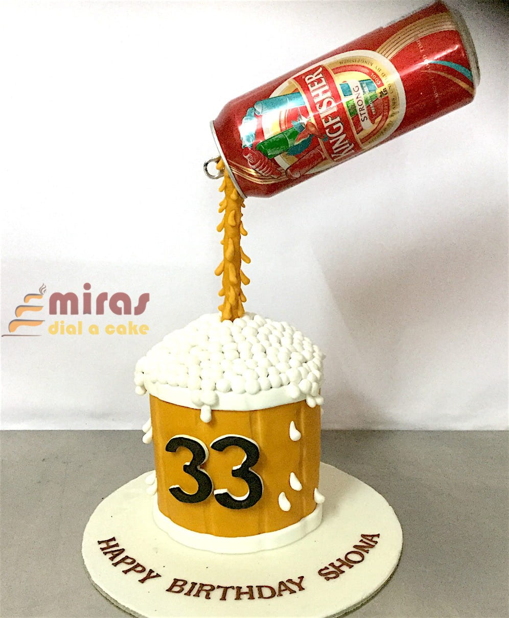 Beer Can Cake 1Kg 1950jpeg
