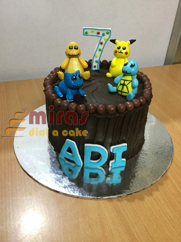 Pleasant Online Pickachu Theme Birthday Cake Customised Cakes Delivered In Funny Birthday Cards Online Alyptdamsfinfo