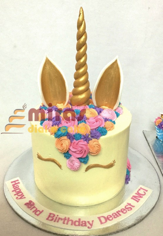 Buttercream Unicorn Cake 15kgs Inci