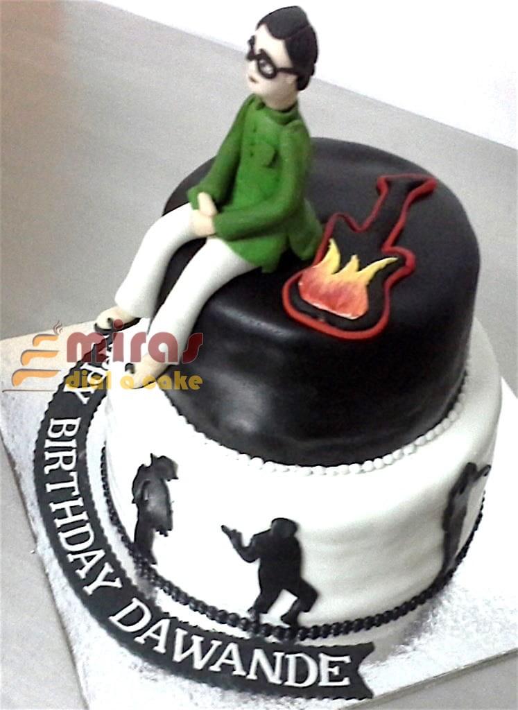 Musical Happy Birthday Cake 2 Kg