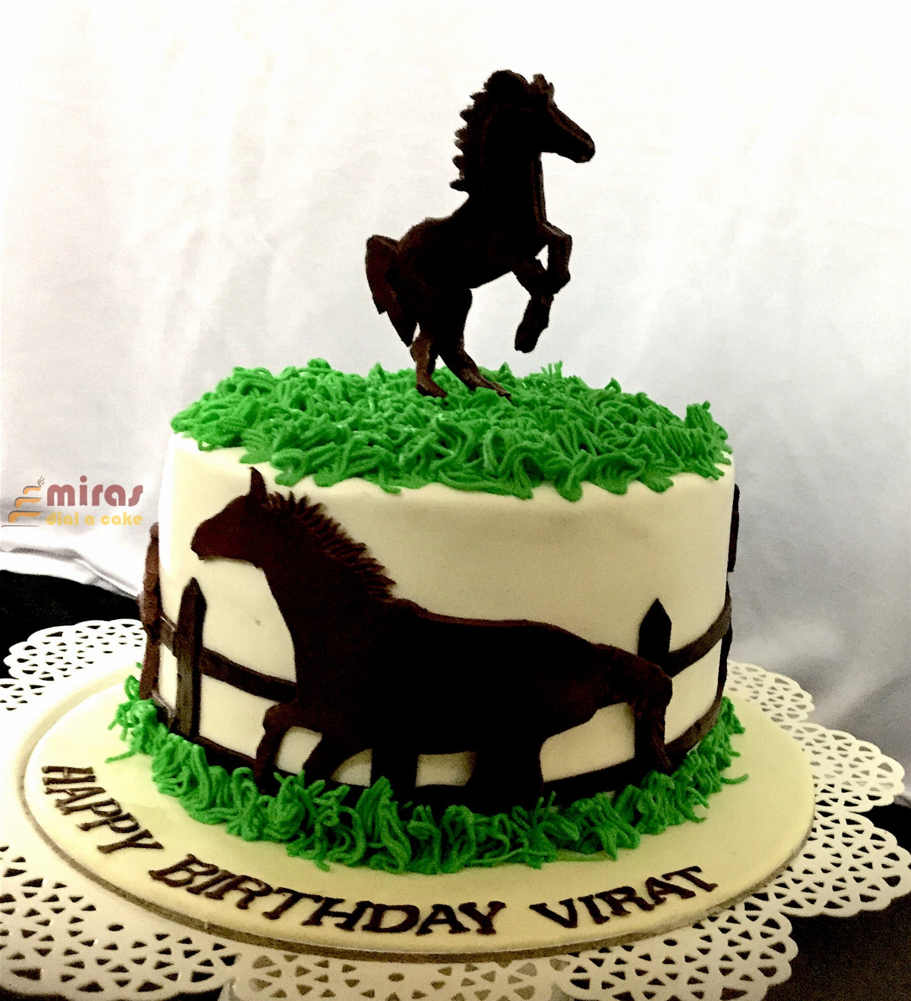Online Birthday Cakes Order Horsetheme Birthday Cake For Delivery In Bangalore