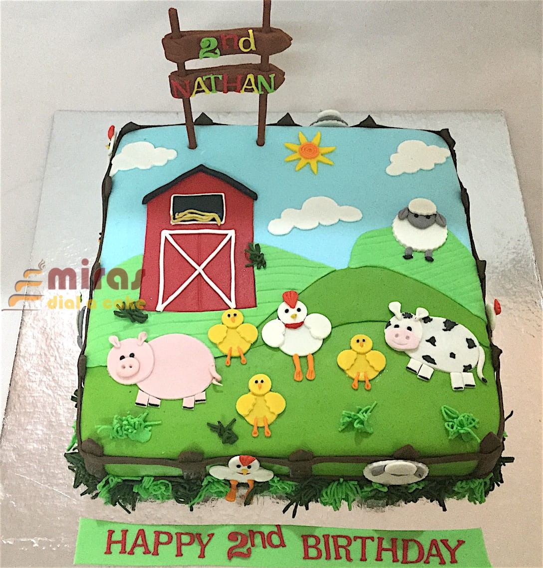 Online Customized Cakes Delivery I Bangalore L Theme