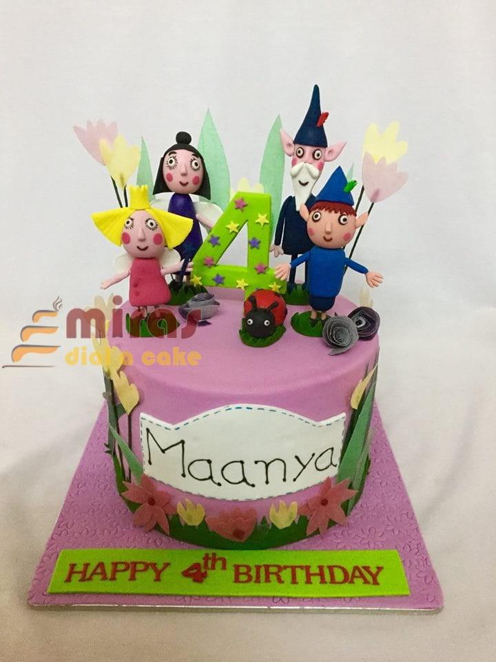 Miraculous Ben Holly Theme Birthday Cake Online Designer Birthday Cakes Birthday Cards Printable Giouspongecafe Filternl
