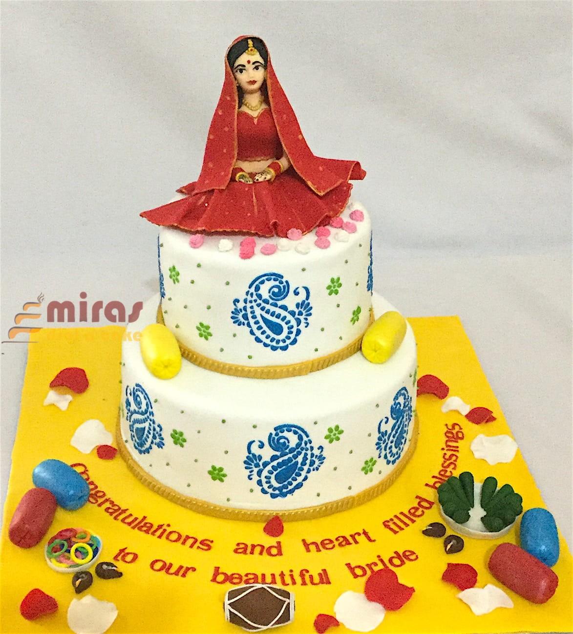Wedding cakes, Customized & Theme Cakes, MIRAS, Bangalore Delivery