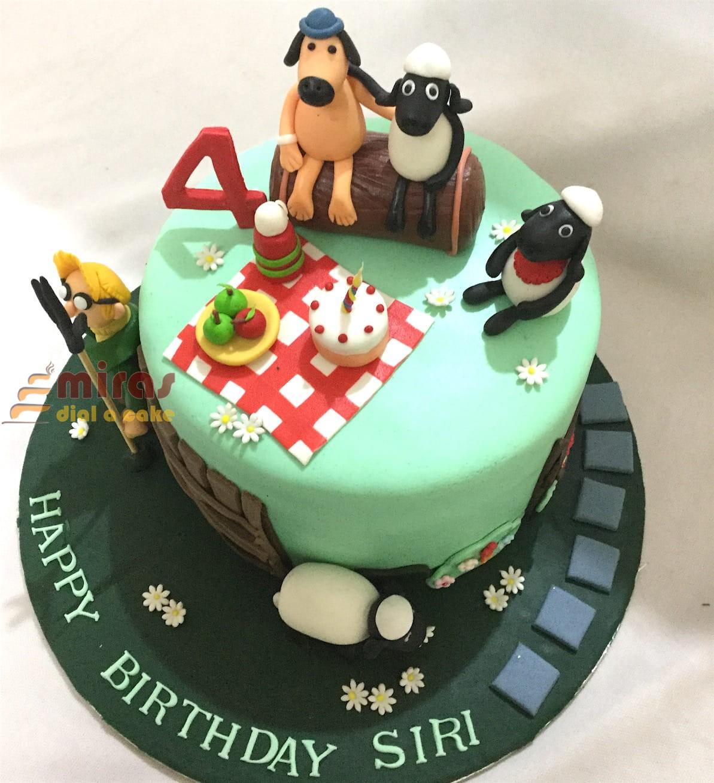 Astonishing Customized Theme Cakes For Birthday Wedding Anniversary Baby Funny Birthday Cards Online Benoljebrpdamsfinfo