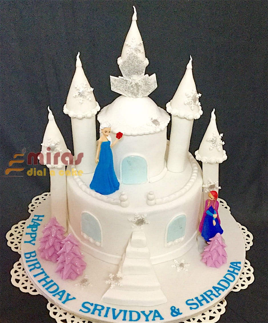 Amazing Online Frozen Theme Birthday Cake Customised Cakes Delivered In Funny Birthday Cards Online Elaedamsfinfo