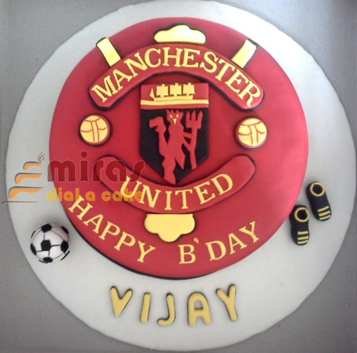 online birthday cakes order football theme birthday cake for delivery in bangalore manchester united birthday cake