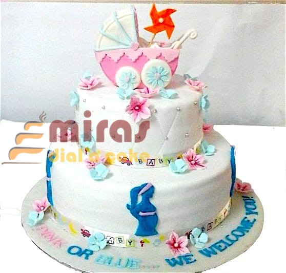 Baby Shower Cake Delivery Bangalore