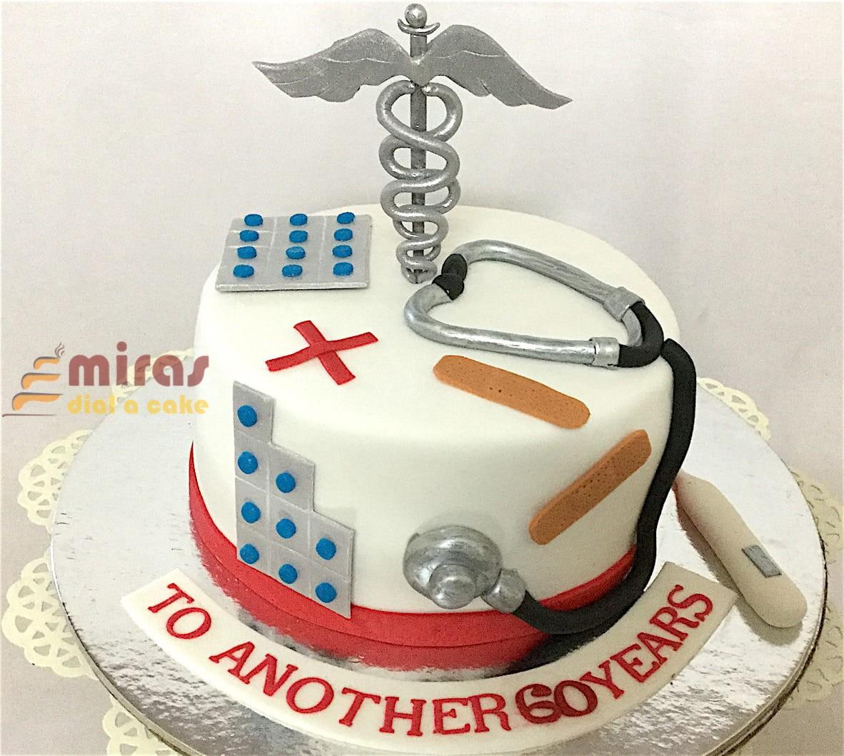 HBD Doctor Cake 15 Kg