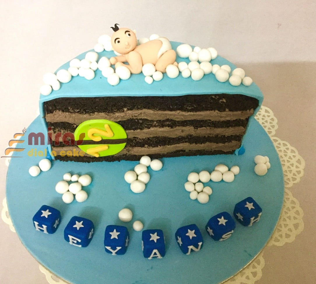 Brilliant Customized Theme Cakes For Birthday Wedding Anniversary Baby Personalised Birthday Cards Veneteletsinfo