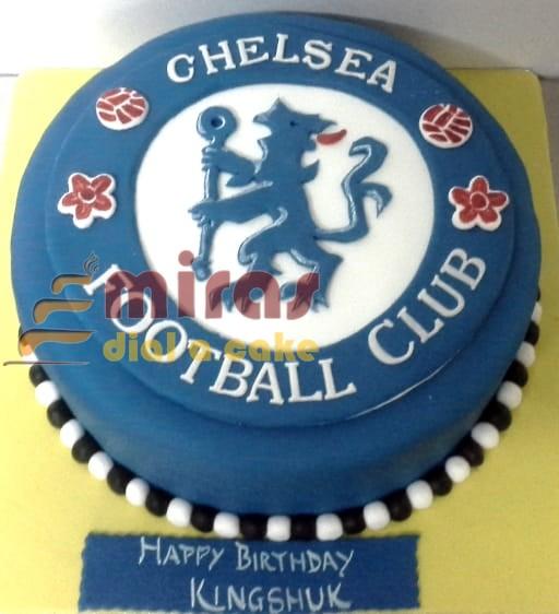 Tremendous Online Birthday Cakes Order Football Theme Birthday Cake For Personalised Birthday Cards Veneteletsinfo