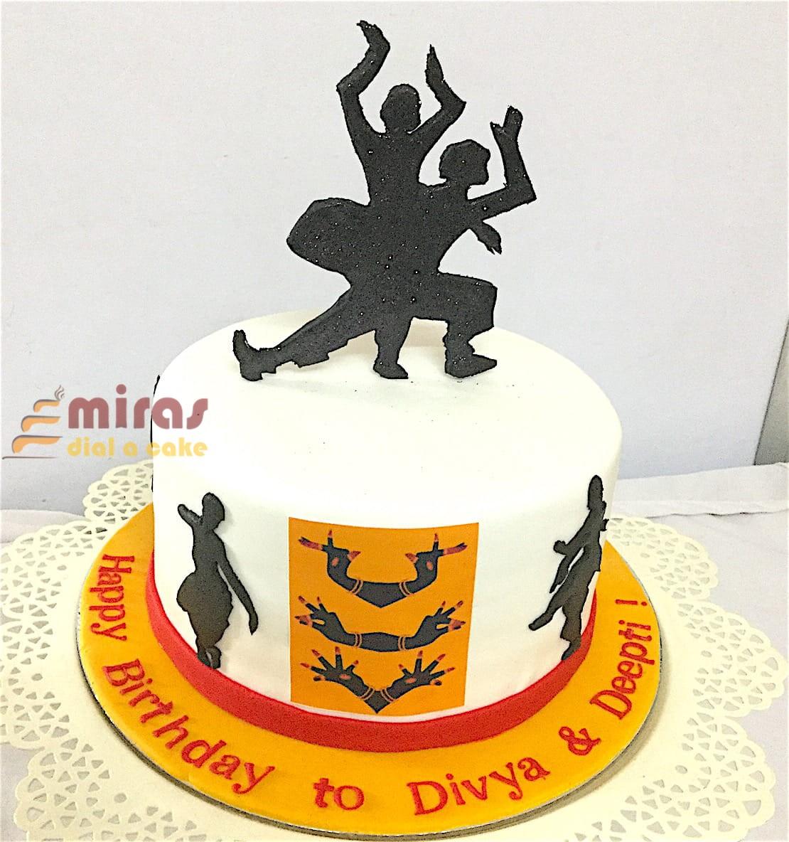 Music Dance Theme Cakes Online l Birthday Cakes l Bangalore l MIRAS