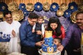 Custom Birthday Cake blue & gold.jpg