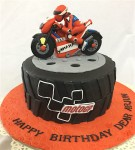 Arjun's Yamaha Bike Birthday Cake