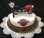Ride The Wind Bike Birthday Cake