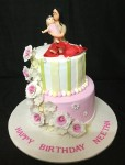 Mom & Baby - Baby Shower Cake