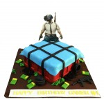 PUBG Gamer #1 Birthday Cake