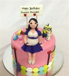 Minion Baby Shower Cake