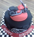Ride Bullet Bike Birthday Cake