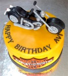 Road Maker's Bike Cake