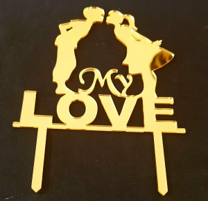 My Love Cake Topper  016