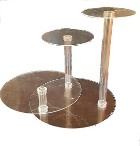 Cake Stand - 3 Step Acrylic Cake Stand