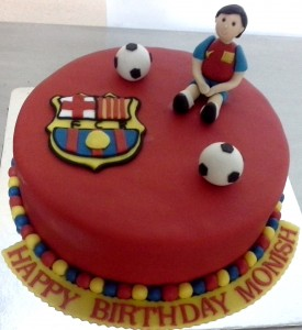 Birthday Cake Barcelona Football Club
