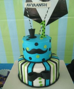 Little man themed cake 2.5kgs