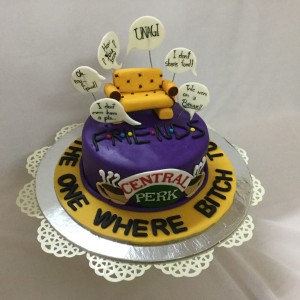 Birthday Cake-Friends TV series theme