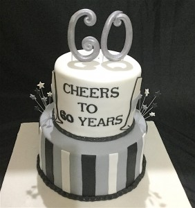 Cheers to 60 Years Cake 2 kg