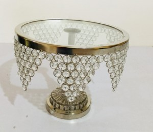 Crystal Cake Stand 12 inches