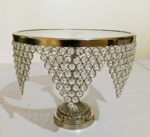Crystal Cake Stand 14 inches