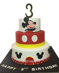 Dessert Table Mickey Theme Cake