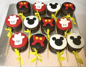 Dessert Table Mickey Theme Chocopies 10 nos