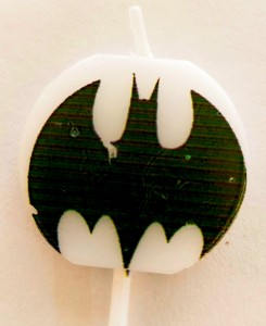 Batman Theme Candle