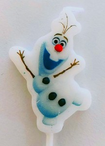 Frozen Theme Candle - Olaf