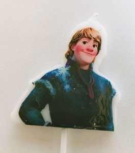 Frozen Theme Candle - Kristoff