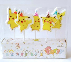 Pokemon Theme Candle Set of 5