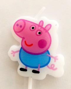 Peppa Pig Theme Candle - George Pig