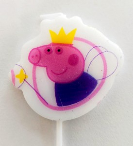 Peppa Pig Theme Candle - Daddy Pig
