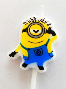 Minion Theme Candle - Stuart