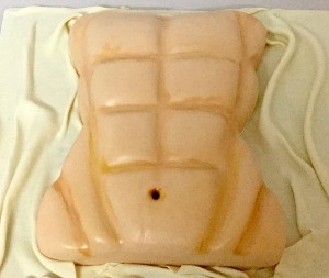 Bachelorette Party Cake-six pack