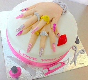Her Birthday Cake- Gorgeous Hands