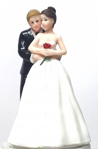 Wedding Cake Toppers - Bride and Groom