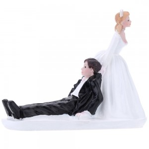 Wedding Cake Toppers - Runaway Groom