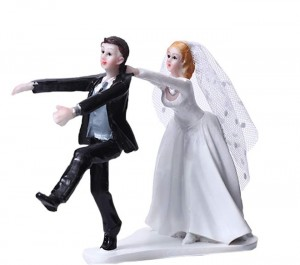 Wedding / Engagement Cake Toppers - Game Over